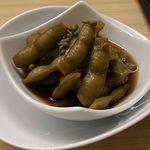 52744499 - 枝豆と山椒の炊いたん