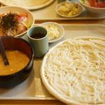 天茶屋 七蔵 - 小セット1100円