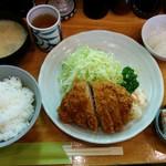 52747114 - ロースカツ定食 2,100円(税込)