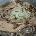 葵 - 冷たい肉蕎麦