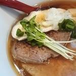 麺屋 正路 - 黒醤油ラーメン特製¥