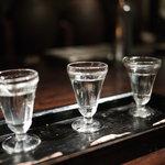 黒猫夜 - 白酒の効き酒セット