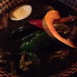 Supukariandohambagutatsuki - 黒エビスープの豚角煮