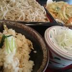 美々 - 日替わりランチのアサリご飯