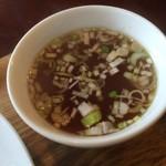 おきらく厨房 桃桃茶寮 - スープアップ