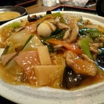 Dining Kaisei - 五目あんかけ炒麺