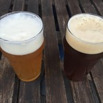 Awa新町川ブリュワリー - ビールです。