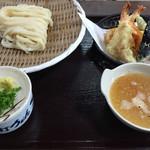うどん商人つづみ屋 - 天ざるうどん  980円