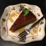 ピアノカフェ ルコラ - フルーツケーキ、ドリンクセット1500円です。