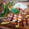 スペインバル カメレオン - 料理写真:ガリシア栗豚のプランチャ(1000円)
