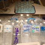 武藏 - SKY GRILL BUFFET 武藏 @浅草ビューホテル 美味しいお水カウンター