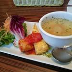 スペインバル カメレオン - ガリシア栗豚のプランチャ(1000円) 前菜