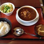 52766839 - 牛タンシチュー定食(税別798円)