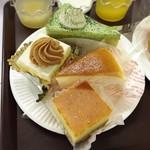 果子乃季 - 抹茶ショート・スフレチーズ・キューブケーキモンブラン&ベイクドチーズ