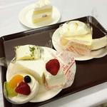 果子乃季 - 奥の→出来立てショートケーキ