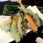 あんど - 野菜天ぷら