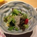 52768397 - ちりめんじゃこと有機野菜