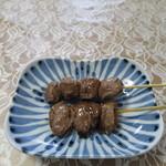 ハマケイ - 砂肝塩串と豚タン塩串