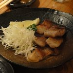 立呑み処 ごっつぉう  - イベリコ豚(ベジョータ)黒胡椒焼き 480円