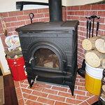 山小屋 佐藤 - 暖炉があります