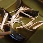 中国飯店佳里福 - ピータンの残骸