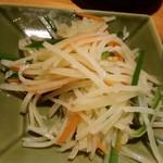 中国飯店佳里福 - ジャガイモ千切り炒め