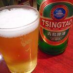 東海酒家 - 青島ビール
