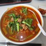 延吉香 - 麻辣牛肉麺