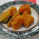 手作り小籠包専門店 包や - 滅多にかぼちゃって食べないのですが、旨いですねえ。