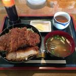 喜多方らーめん めんこい - ソースかつ丼¥1,050(別税)