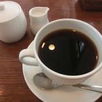 カフェ ブラン - 食後のコーヒー
