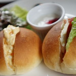 ル ルパン ブルー - 料理写真:サンドイッチモーニング