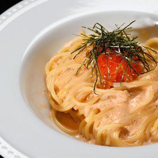 ★イクラと生うにのトマトクリームやレモンクリームパスタが人気
