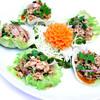 ヤムムータクライ~豚肉とハーブのレタス包み