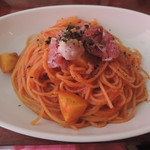 Sou House~創家~ - 生ハムとジャガイモのスパゲティ(大盛り)