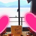 湖上館PAMCO - ツバメさんと3ショット(・ω<)