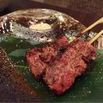 コリアンフードビストロ 貴仙 - ハラミの串焼き(塩)✩︎⡱