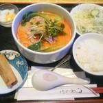 52784885 - 旨辛担々刀削麺セット @900円→@500円