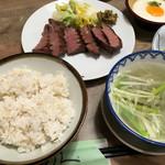 牛たん炭焼 利久 - 極定食+とろろ(単品)