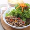 蕎麦DAYS - 料理写真:冷つゆつけ蕎麦 肉べジ
