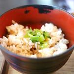 うどん山長 - 炊き込みご飯(ランチサービス)