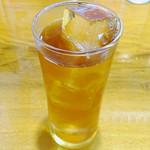 味の牛たん 喜助 - 烏龍茶
