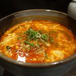 清次郎 - ☆ピリ辛のスープ\(^o^)/☆