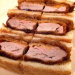 サンドウィッチファクトリー - 四元豚のフィレカツ