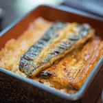 江戸定 - 鰻(むなぎ)蒲焼(かばやき)、表側(おもてがは)