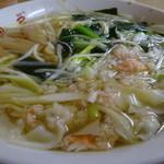 胡弓 - 海鮮ワンタン麺