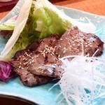 江差亭 - 牛タン味噌漬け