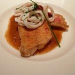 魚料理:ルジェ・ドゥ・ロッシュのポワレ