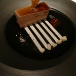 前菜 香り鶏とフォアグラ