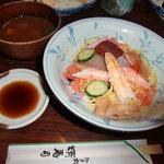 清寿司 - ちらし